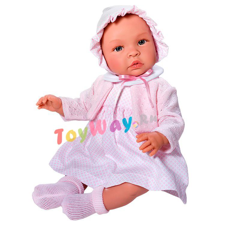 Кукла Лео в розовых носочках, 46 см.Куклы ASI (Испания)<br>Кукла Лео в розовых носочках, 46 см.<br>