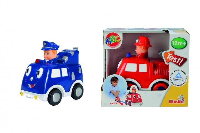 Игрушечная машинка с водителем, 2 видаМашинки для малышей<br>Игрушечная машинка с водителем, 2 вида<br>