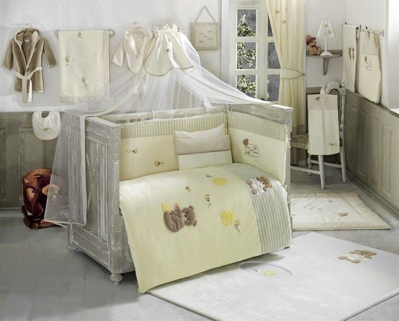 Купить Балдахин серии Honey Bear 150 х 450 см, Linen, Kidboo
