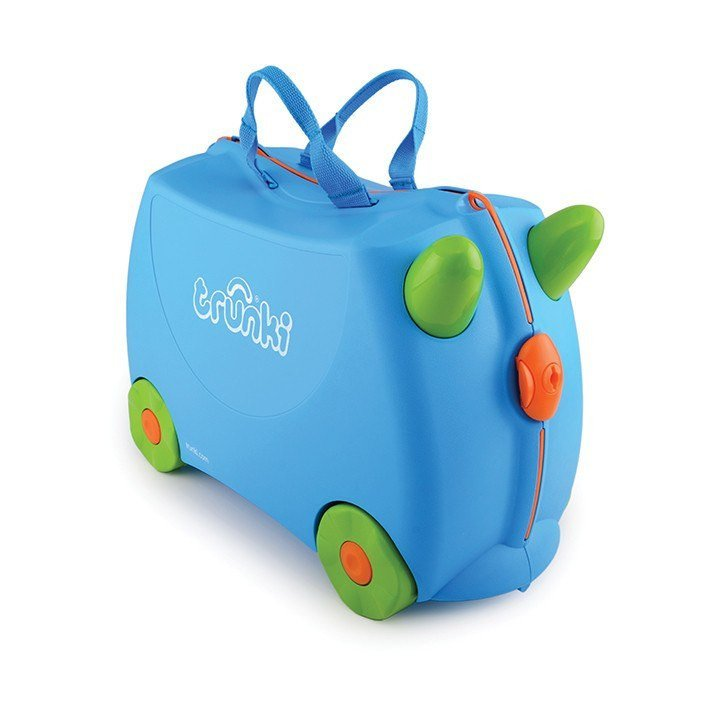 Чемодан на колесиках Trunki, голубойЧемоданы для путешествий<br>Чемодан на колесиках Trunki, голубой<br>
