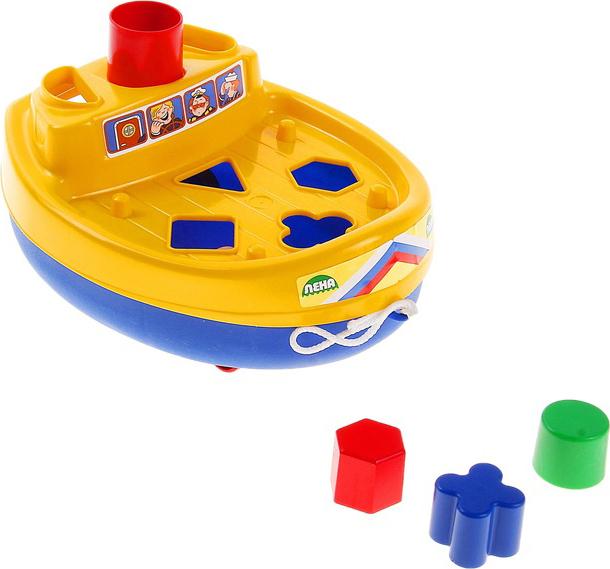 Каталка - КорабликСортеры, пирамидки<br>Каталка - Кораблик<br>