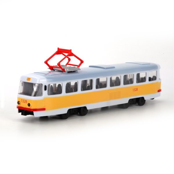 Трамвай со световыми и звуковыми эффектамиГородская техника<br>Трамвай со световыми и звуковыми эффектами<br>