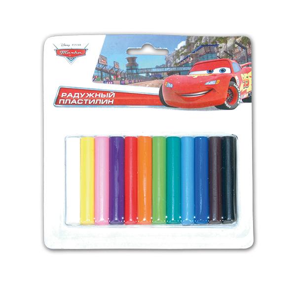 Пластилин «Тачки Дисней», 12 цветовНаборы для лепки<br>Пластилин «Тачки Дисней», 12 цветов<br>