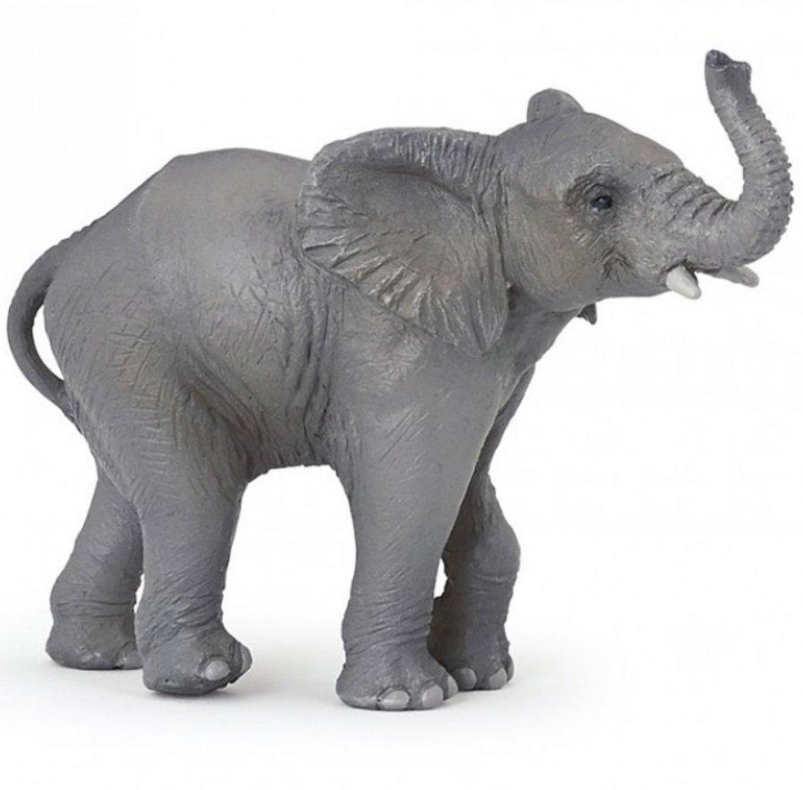 Купить Фигурка – Слоненок, размер 10 х 7 х 4 см., Papo
