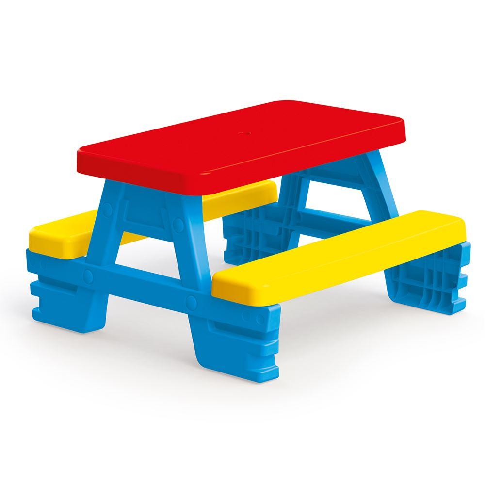 Стол-пикник для 4 детей, 78 х 71 х 43 см. фото
