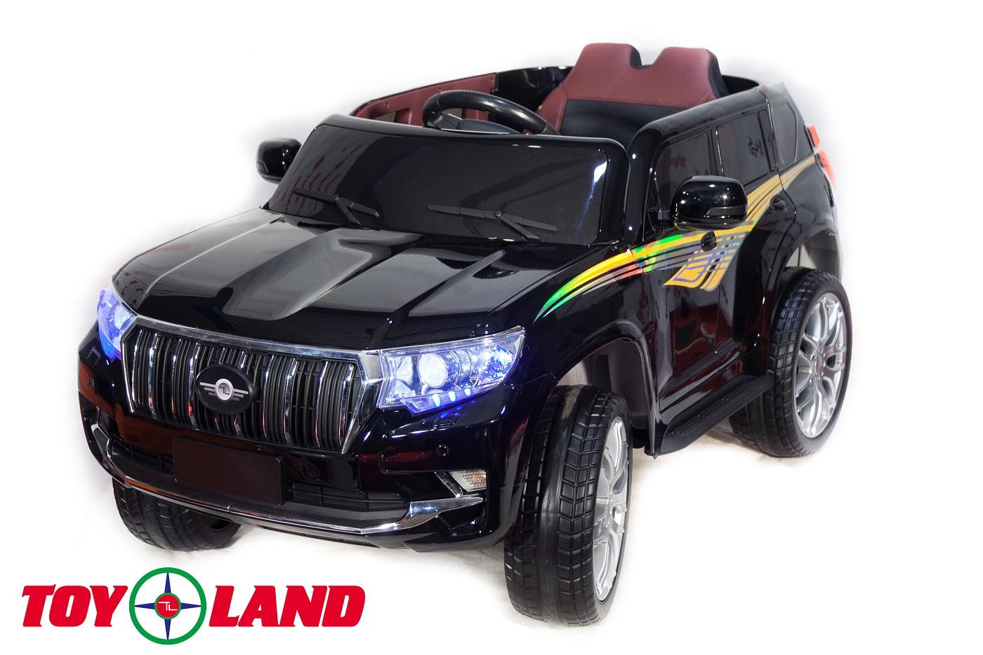 Электромобиль Джип Toyota Prado YHD5637, черный