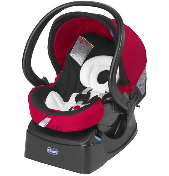 Chicco Автомобильное сиденье Auto-Fix Fast Baby Red Wave