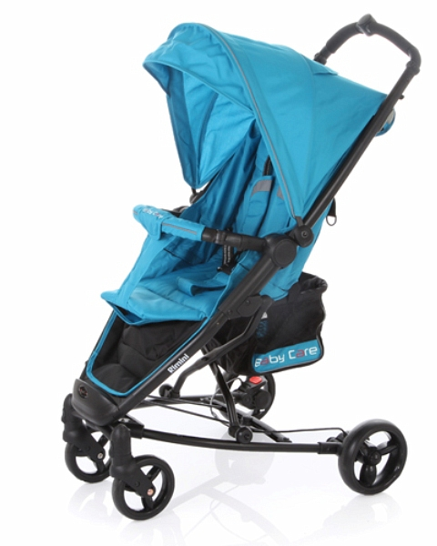 Коляска прогулочная Rimini, blueДетские коляски Capella Jetem, Baby Care<br>Коляска прогулочная Rimini, blue<br>