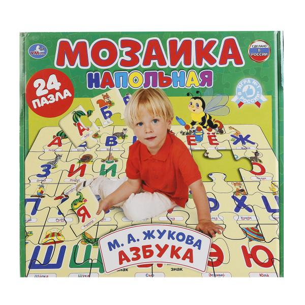 Напольная мозаика - Азбука Жуковой, 24 пазла