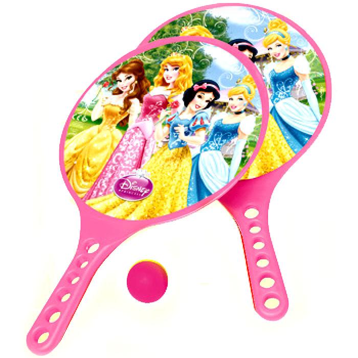 Набор с ракетками для игры на пляже  Принцессы  - Разное, артикул: 98199