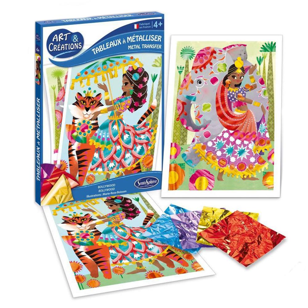 Купить Набор для детского творчества с блестками - Болливуд, SentoSpherE