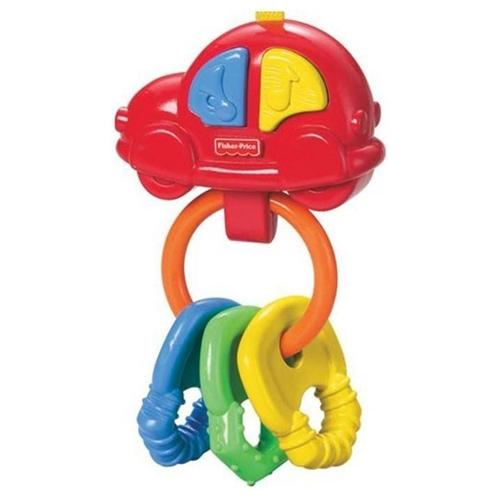 Погремушка-прорезыватель  - Музыкальная машинкаДетские погремушки и подвесные игрушки на кроватку<br>Погремушка-прорезыватель  - Музыкальная машинка<br>