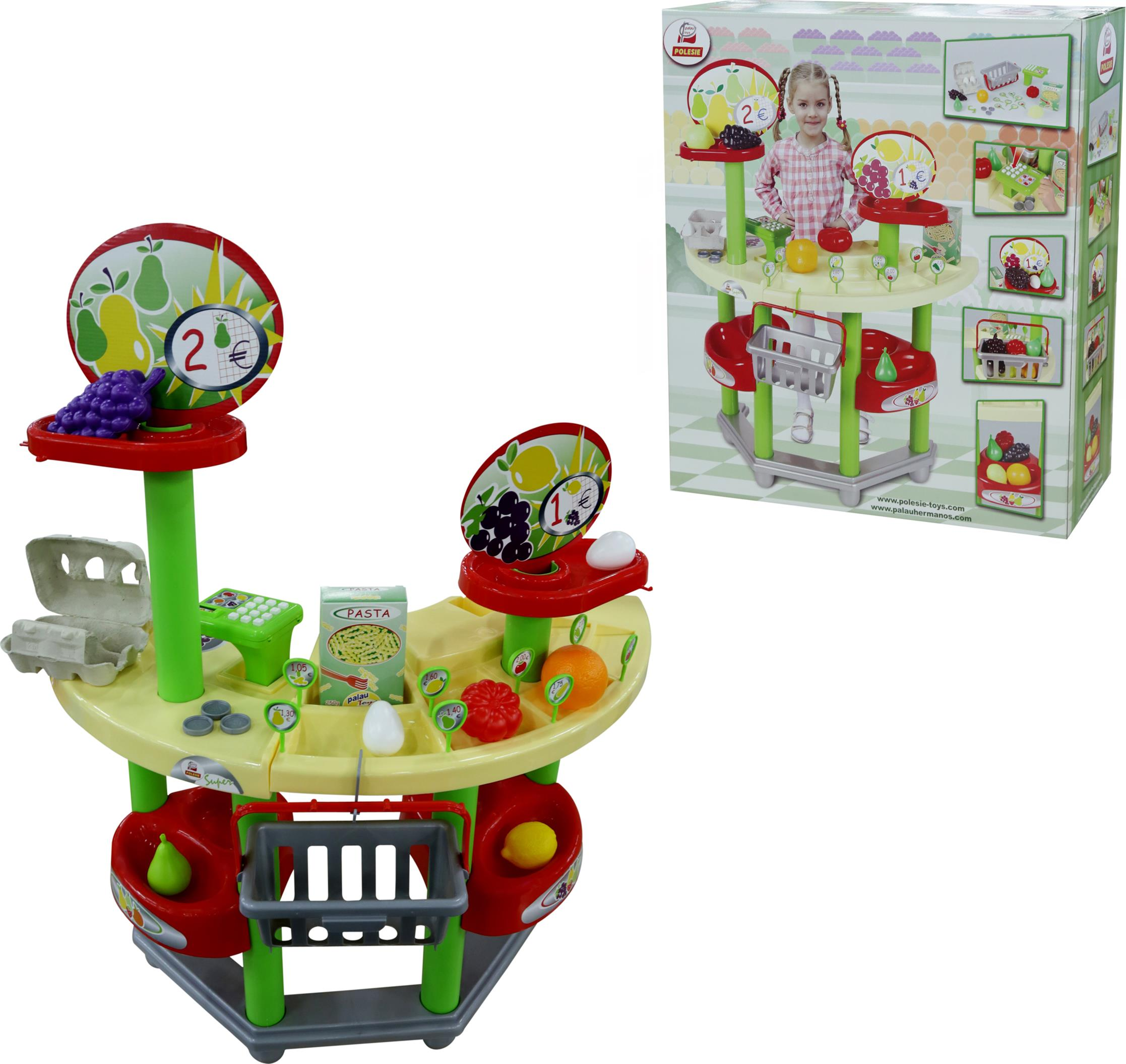 Набор Supermarket №1, в коробкеДетская игрушка Касса. Магазин. Супермаркет<br>Набор Supermarket №1, в коробке<br>