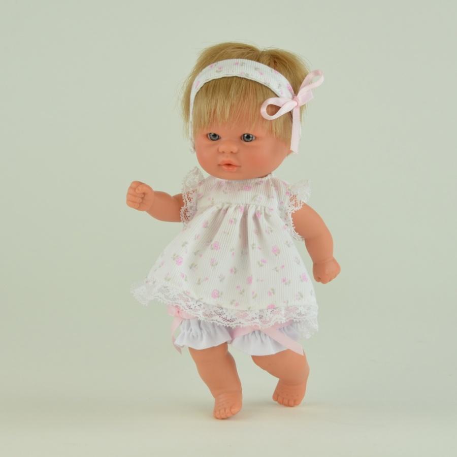 Кукла пупсик с повязкой, 20 см.Куклы ASI (Испания)<br>Кукла пупсик с повязкой, 20 см.<br>