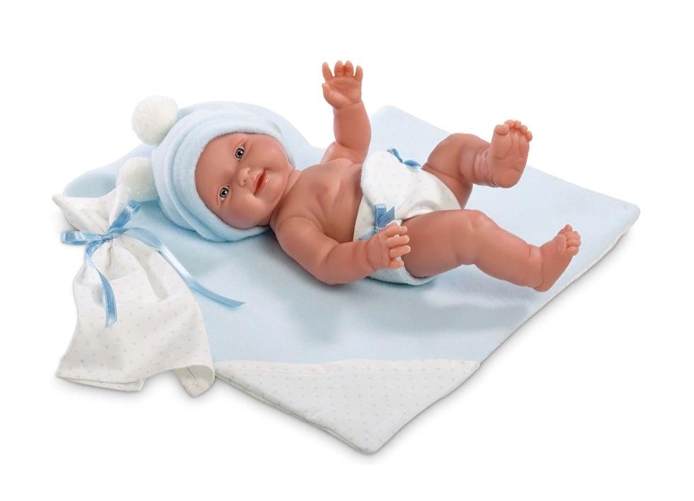 Купить Кукла Бэбито Селесте, 26 см с одеялом, Llorens Juan