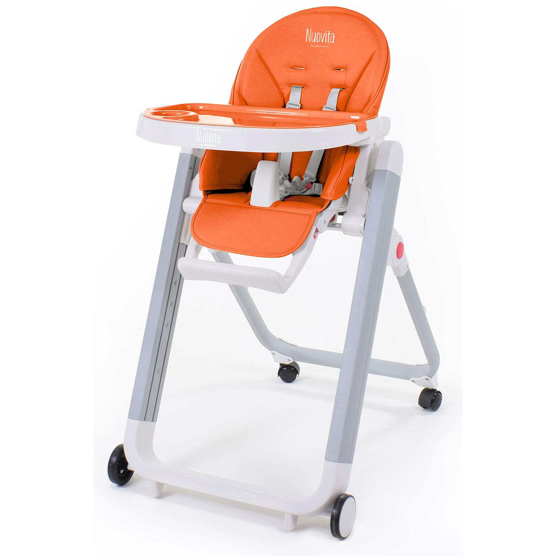 Купить Стульчик для кормления Nuovita Futuro Senso Bianco, Arancione/Оранжевый