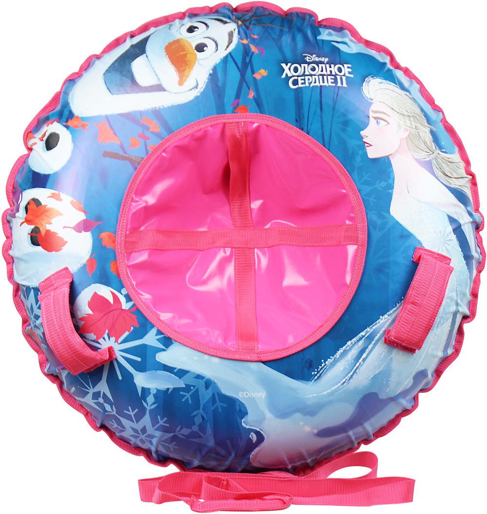 Купить Тюбинг из серии Disney Холодное сердце 120 см., с резиновой автокамерой, материал глянцевый пвх 500 гр/кв.м., 1TOY