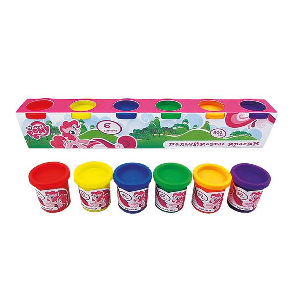 Пальчиковые краски - My Little Pony, 6 штук
