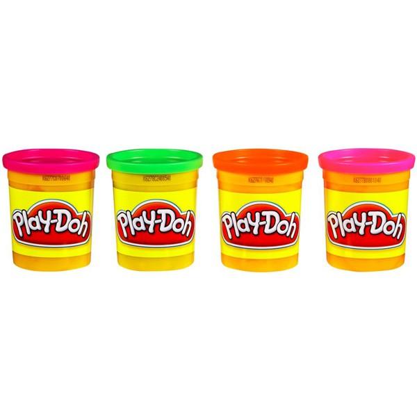 Набор пластилина из 4х банок Play-DohПластилин Play-Doh<br>Набор пластилина из 4х банок Play-Doh<br>
