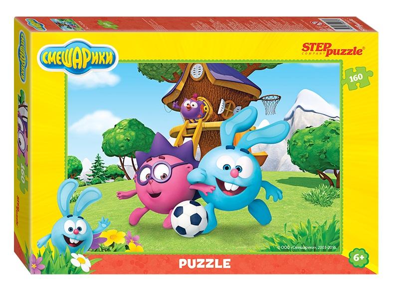Купить Пазл – Смешарики, 160 деталей, Step Puzzle