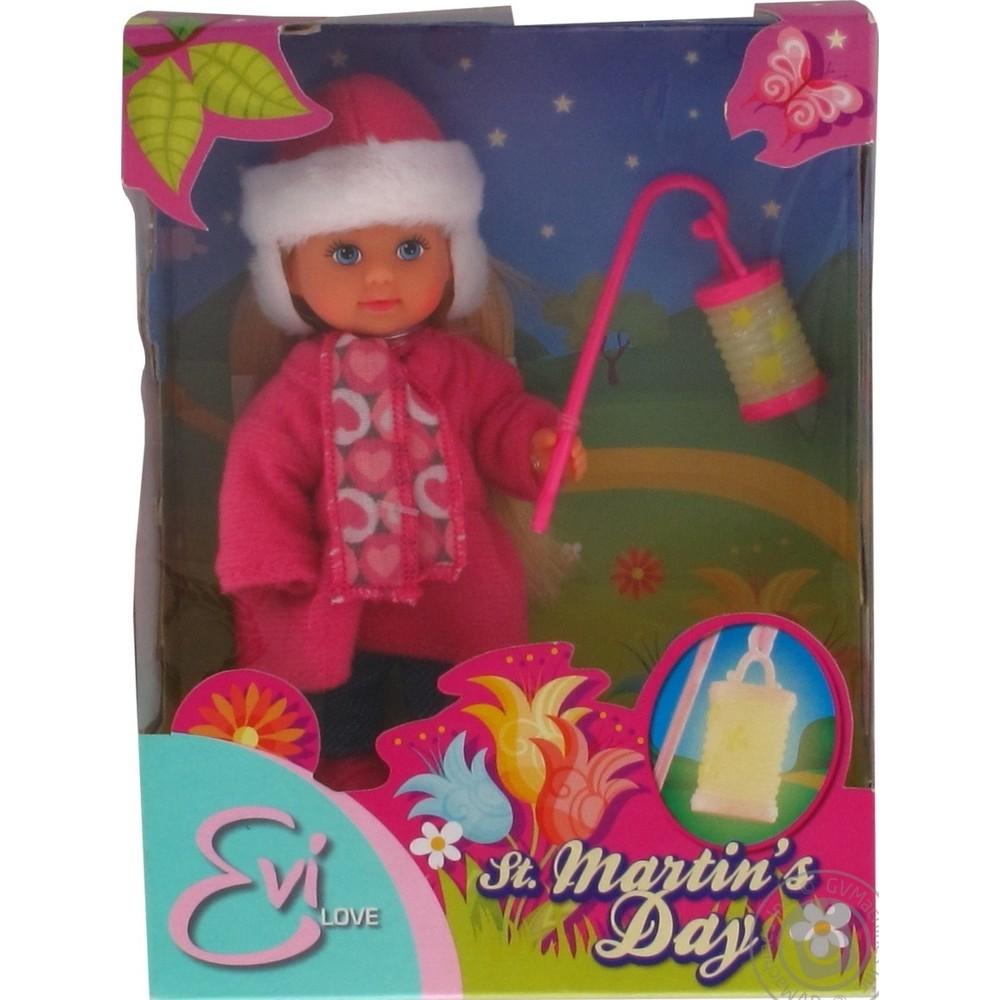 Куколка Еви с фонариком, 12 см., 2 видаКуклы Еви<br>Куколка Еви с фонариком, 12 см., 2 вида<br>