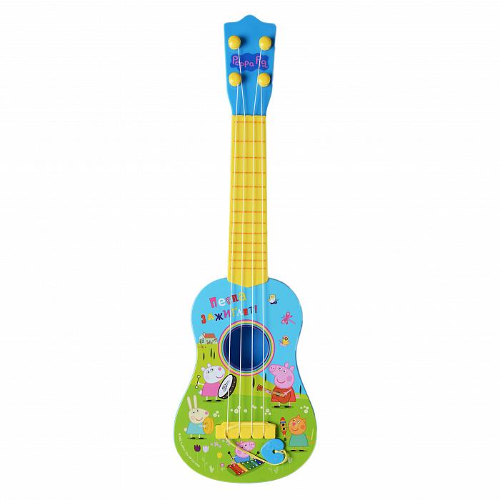 Купить Гитара ТМ Peppa Pig - Свинка Пеппа, Росмэн