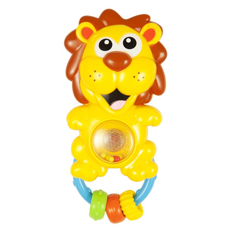 Купить Игрушка-погремушка – Львенок, со светом и звуком, Жирафики