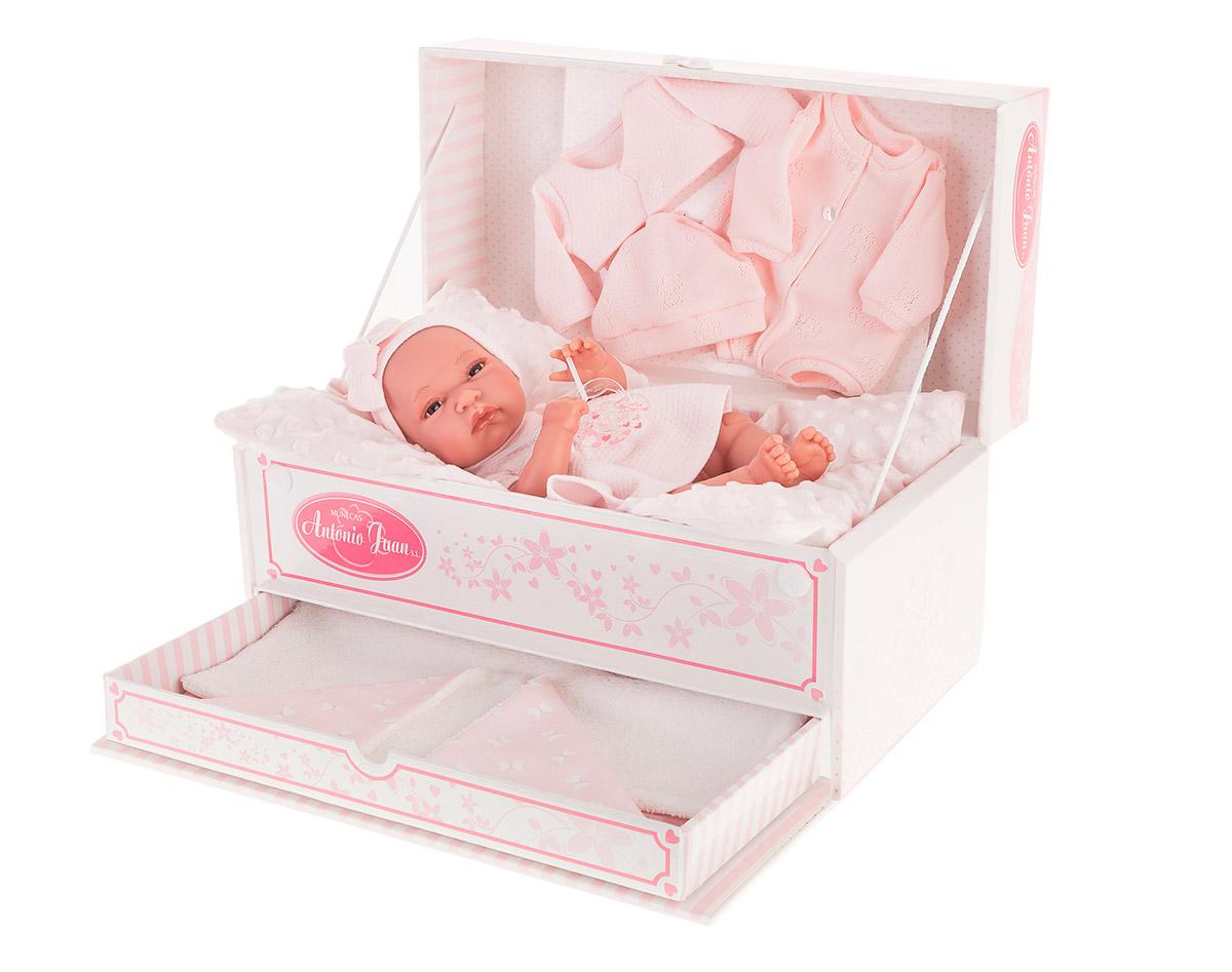 Купить Кукла-младенец Фиона в розовом, 33 см, Antonio Juan Munecas