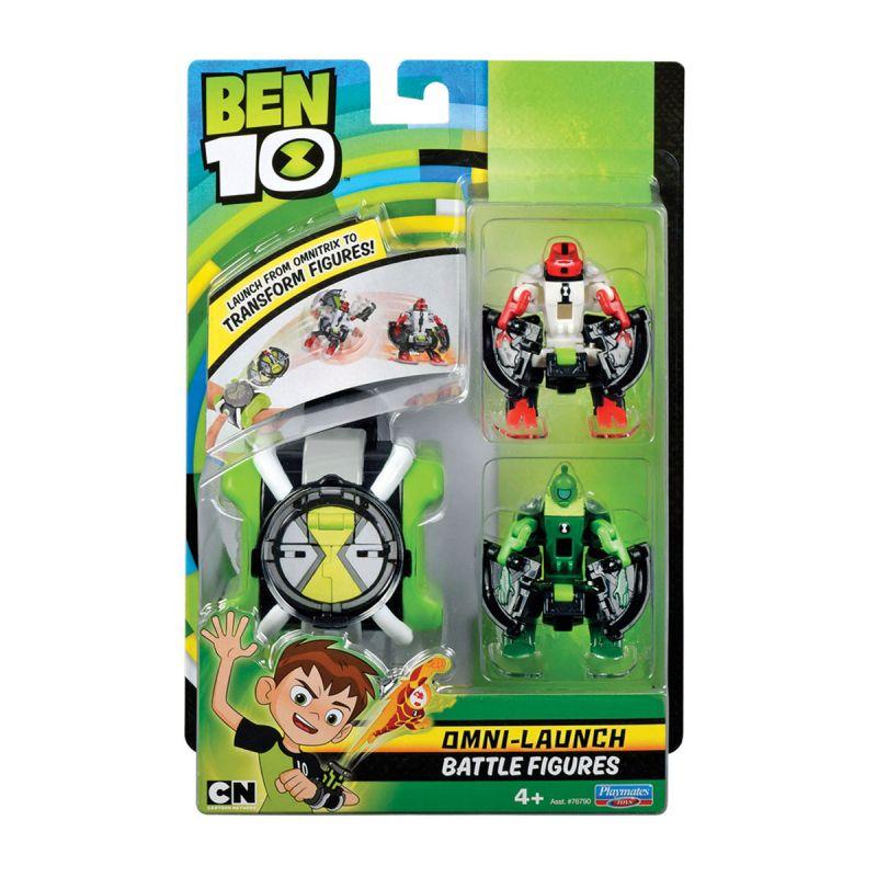 Купить Набор из серии Ben 10 – Омнизапуск с фигурками Силача и Лозы, Playmates