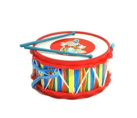 Детский барабан с аппликацией – ДругБарабаны, маракасы<br>Детский барабан с аппликацией – Друг<br>