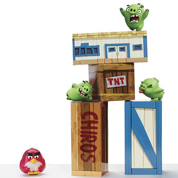 Игрушка из серии «Angry Birds» - игровой набор «Взрывная птичка» от Toyway