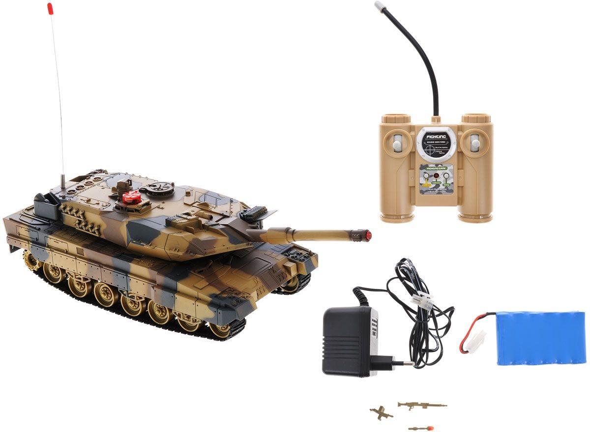 картинка Танк радиоуправляемый, с инфракрасным наведением, 45 см. от магазина Bebikam.ru