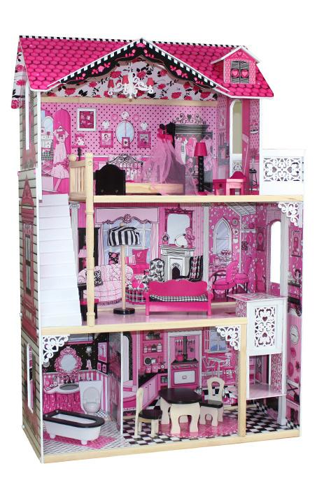 Домик для кукол Барбара, с аксессуарами