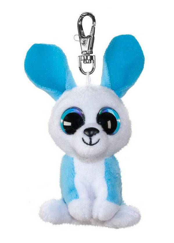Брелок - Кролик Ice, голубой, 8,5 см