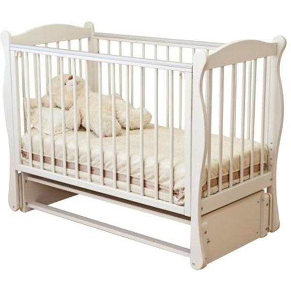 Кровать детская - Noony Wood Simple, ванильДетские кровати и мягкая мебель<br>Кровать детская - Noony Wood Simple, ваниль<br>