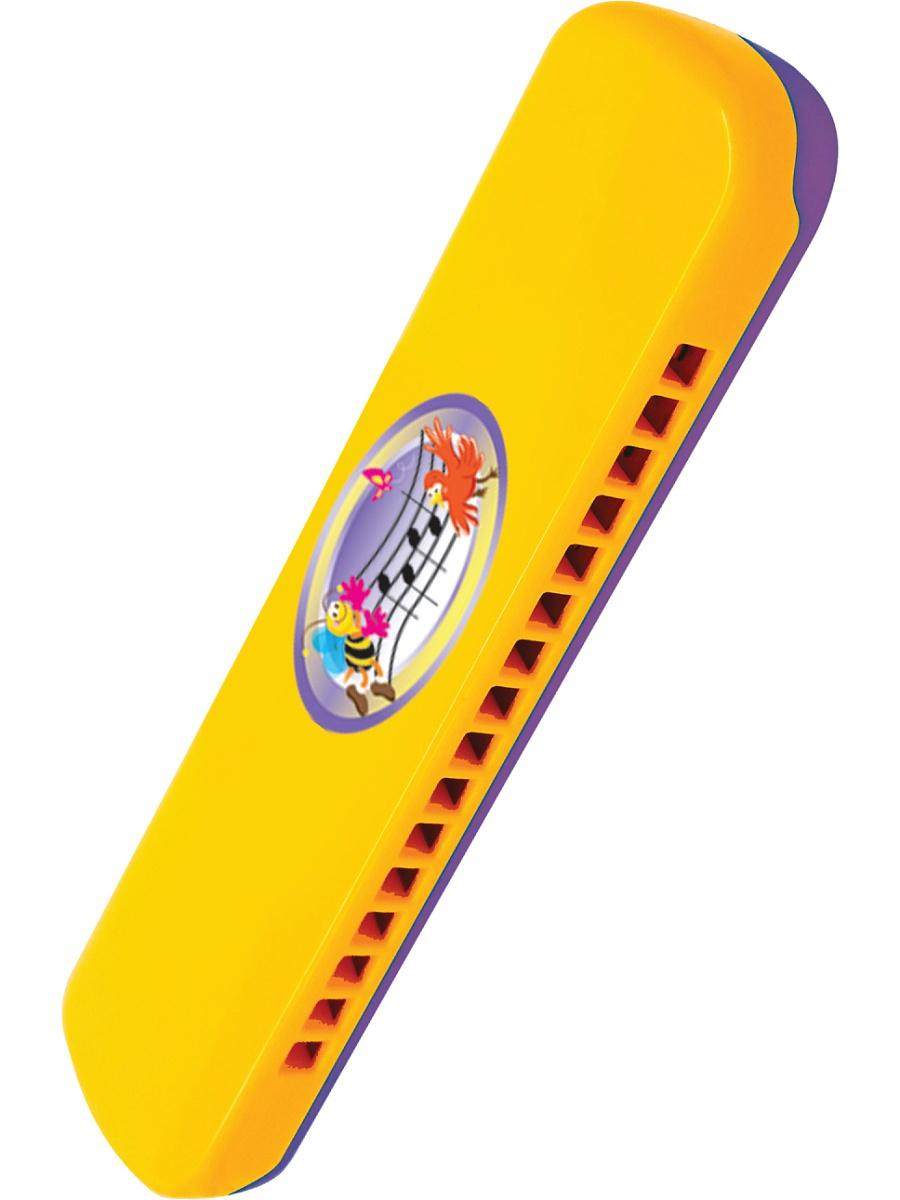 Развивающая игрушка. Губная гармошкаДуховые инструменты<br>Развивающая игрушка. Губная гармошка<br>