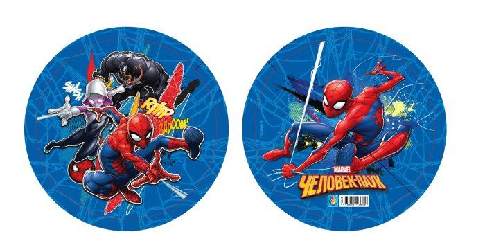 Купить Мяч пвх Marvel Мстители Человек Паук, полноцветный, 23 см, 1TOY