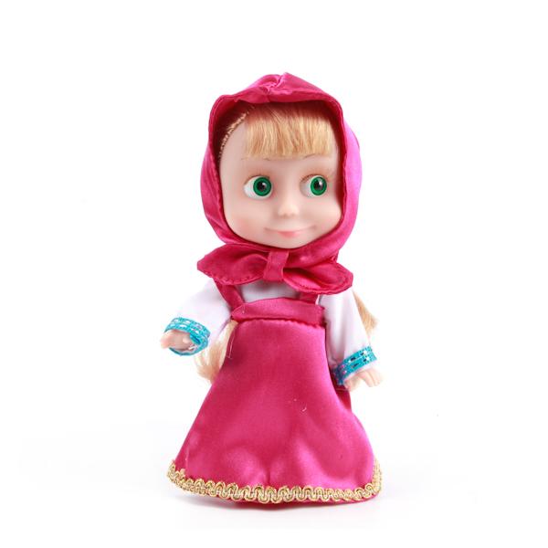 Купить Интерактивная кукла Маша из мультфильма «Маша и Медведь», 15 см, Карапуз