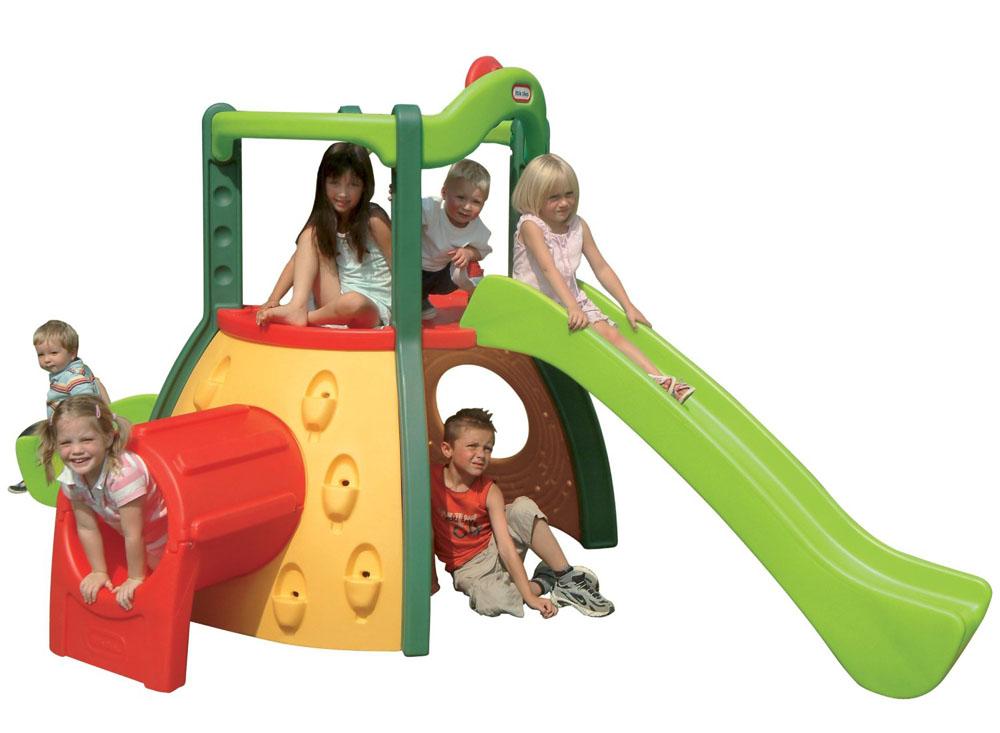 Игровой комплекс Большие горки - Детские игровые горки, артикул: 93522