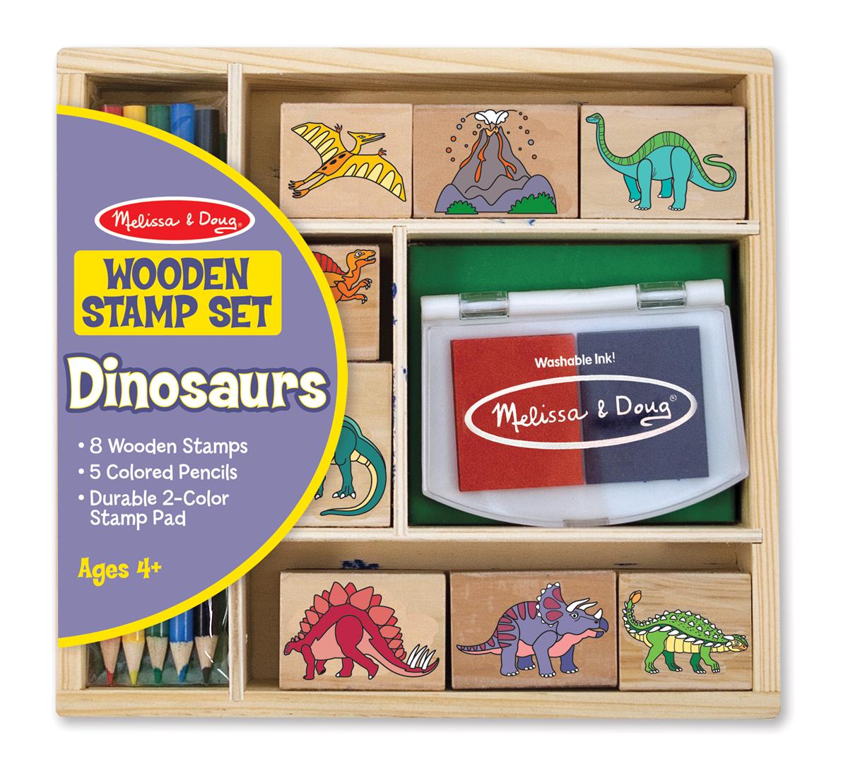 Купить Набор печатей - Динозавры из серии Творчество, Melissa&Doug