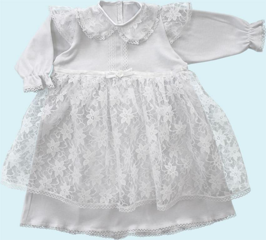 Крестильное платье и чепчик от Toyway