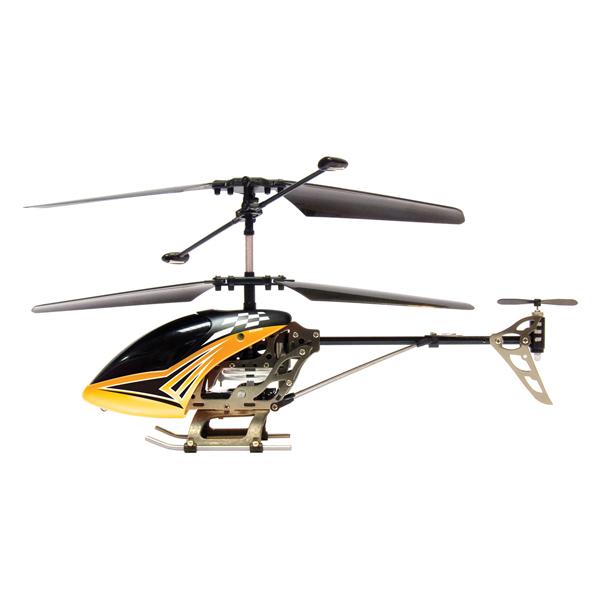 Металлический трёхканальный вертолёт с гироскопом SilverLit Sky DragonРадиоуправляемые вертолеты<br>Металлический трёхканальный вертолёт с гироскопом SilverLit Sky Dragon<br>