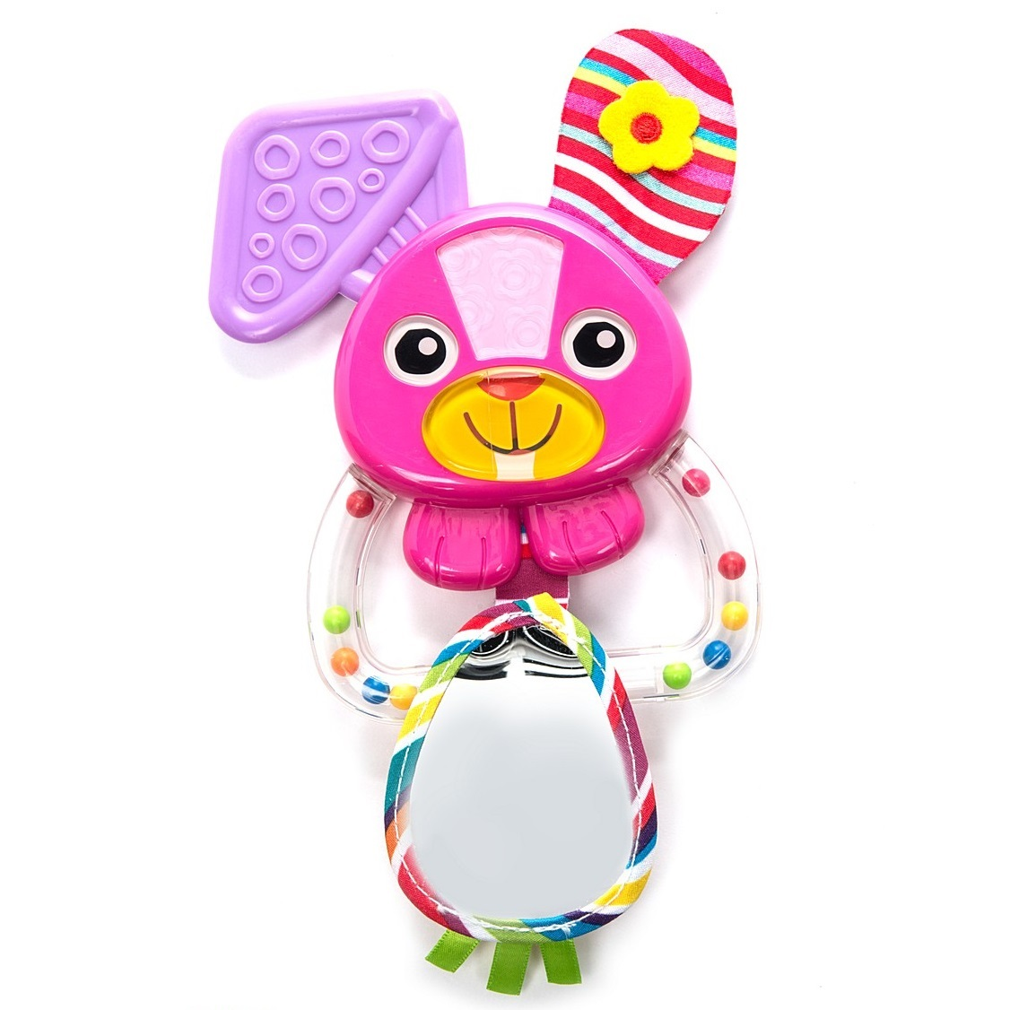 Погремушка «Зайка Белла»Детские погремушки и подвесные игрушки на кроватку<br>Погремушка «Зайка Белла»<br>