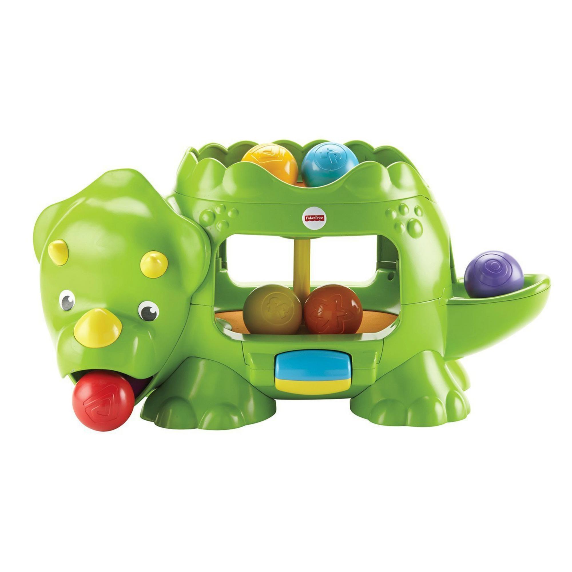 Развивающая игрушка - Динозавр с шарикамиРазвивающие игрушки Fisher-Price<br>Развивающая игрушка - Динозавр с шариками<br>