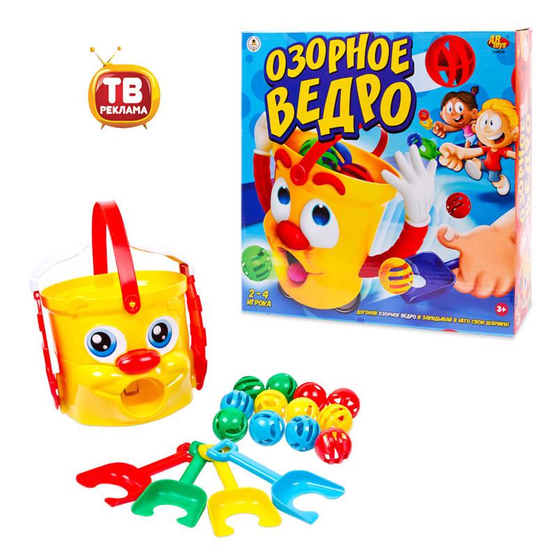 Игровой набор - Озорное ведро, с аксессуарамиИнтерактив для малышей<br>Игровой набор - Озорное ведро, с аксессуарами<br>
