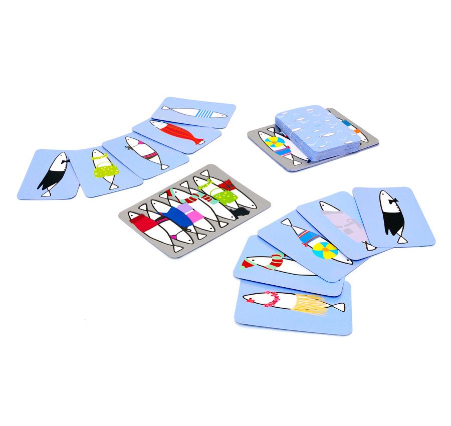 Купить Детская настольная карточная игра - Сардины, Djeco