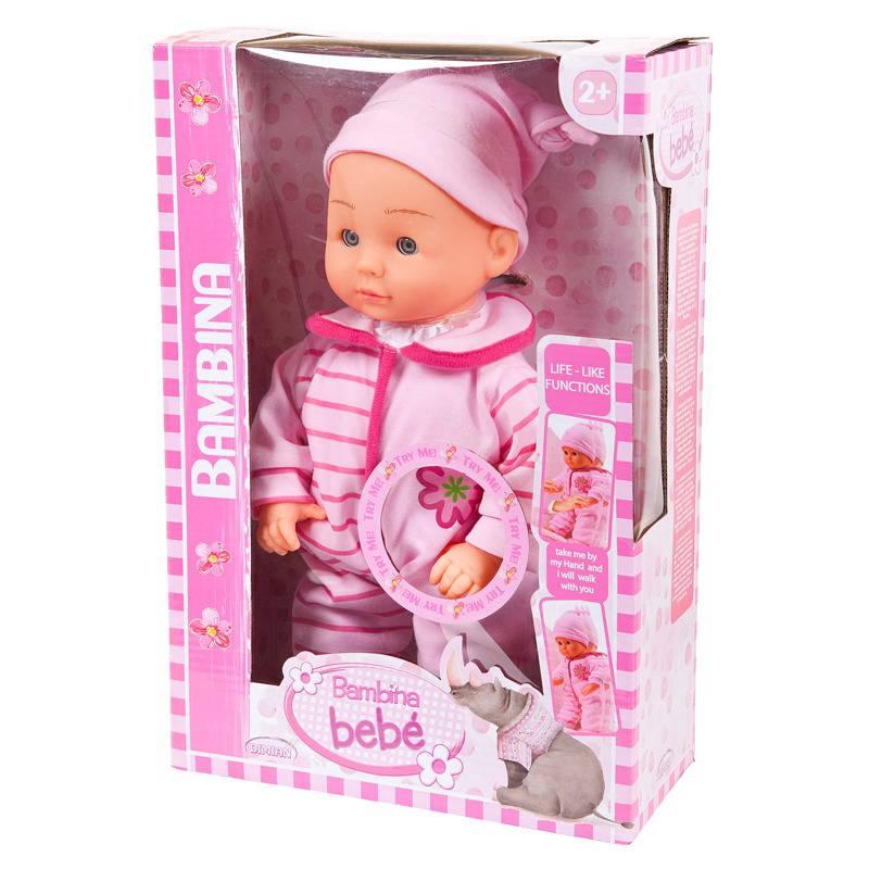 Купить Кукла из серии Bambina Bebe, 33 см., учится ходить, DIMIAN