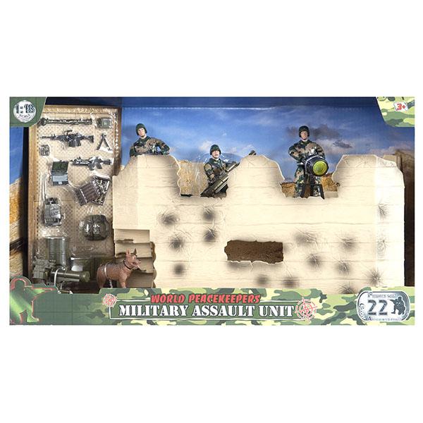 Купить Игровой набор WP - Штурмовая группа, 1:18, 2 фигурки, World Peacekeeper