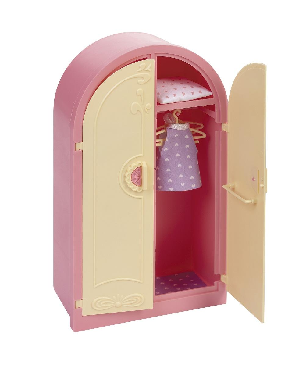 Купить Шкаф - Маленькая принцесса, нежно-розовый, Огонек
