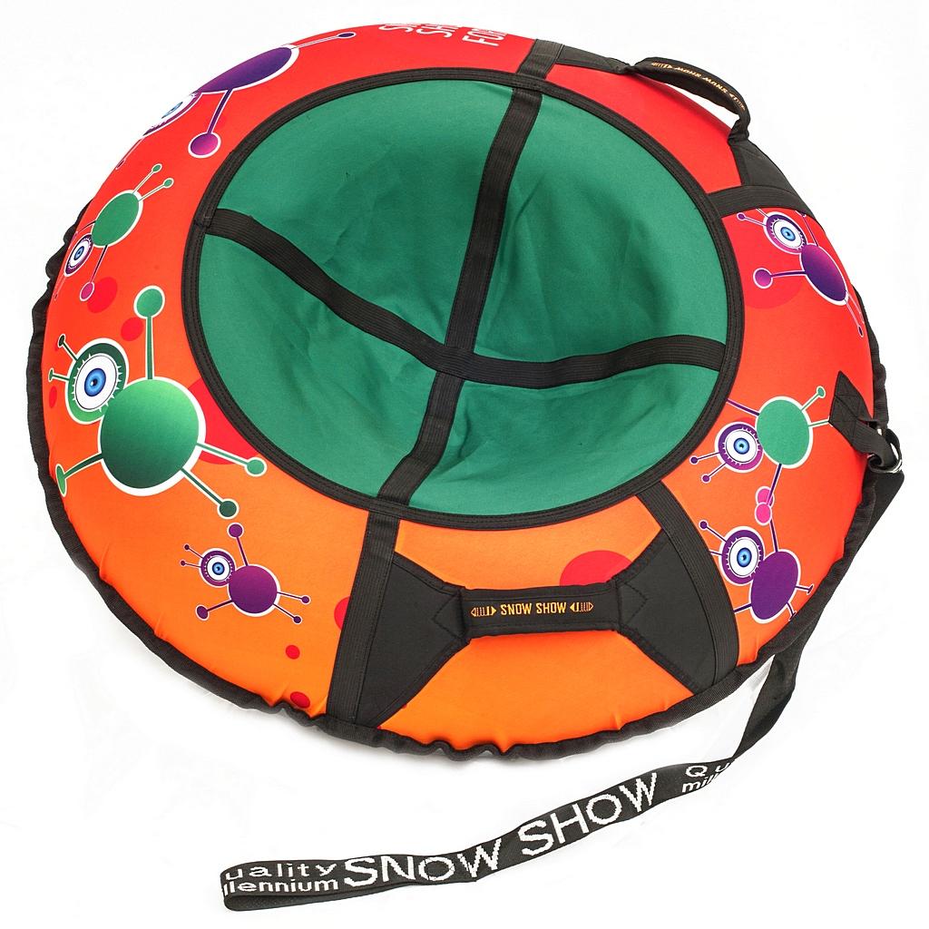 Санки надувные тюбинг дизайн - Инопланетяне, диаметр 105 см.Ватрушки и ледянки<br>Санки надувные тюбинг дизайн - Инопланетяне, диаметр 105 см.<br>